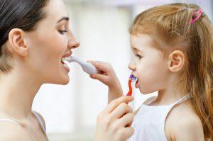 Teeth Brushing Children