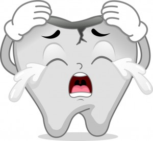 Cracked Tooth Mascot